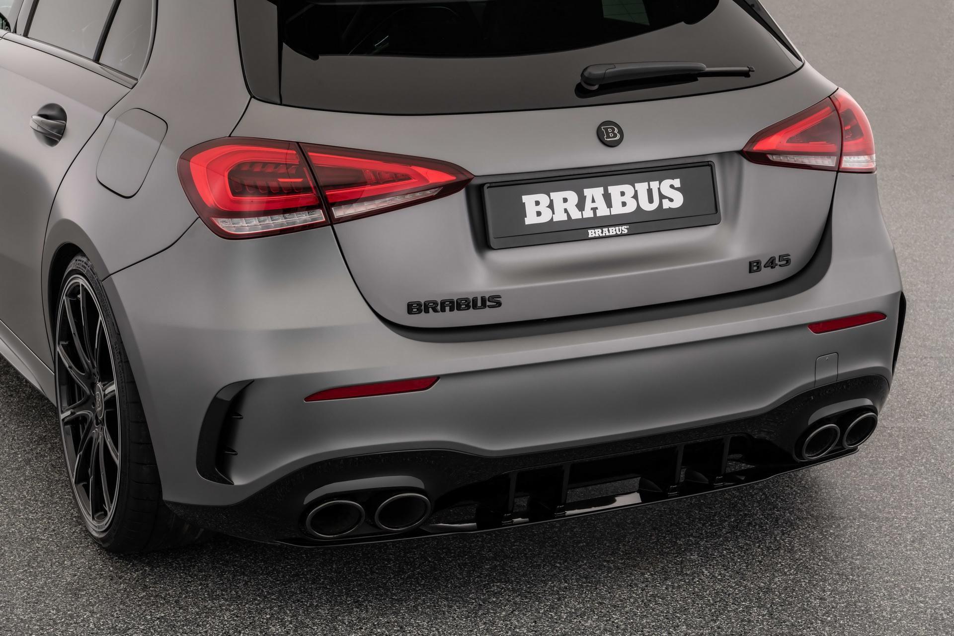 Mercedes-AMG A 45 S được Brabus nâng cấp động cơ mạnh 444 mã lực Ảnh 8