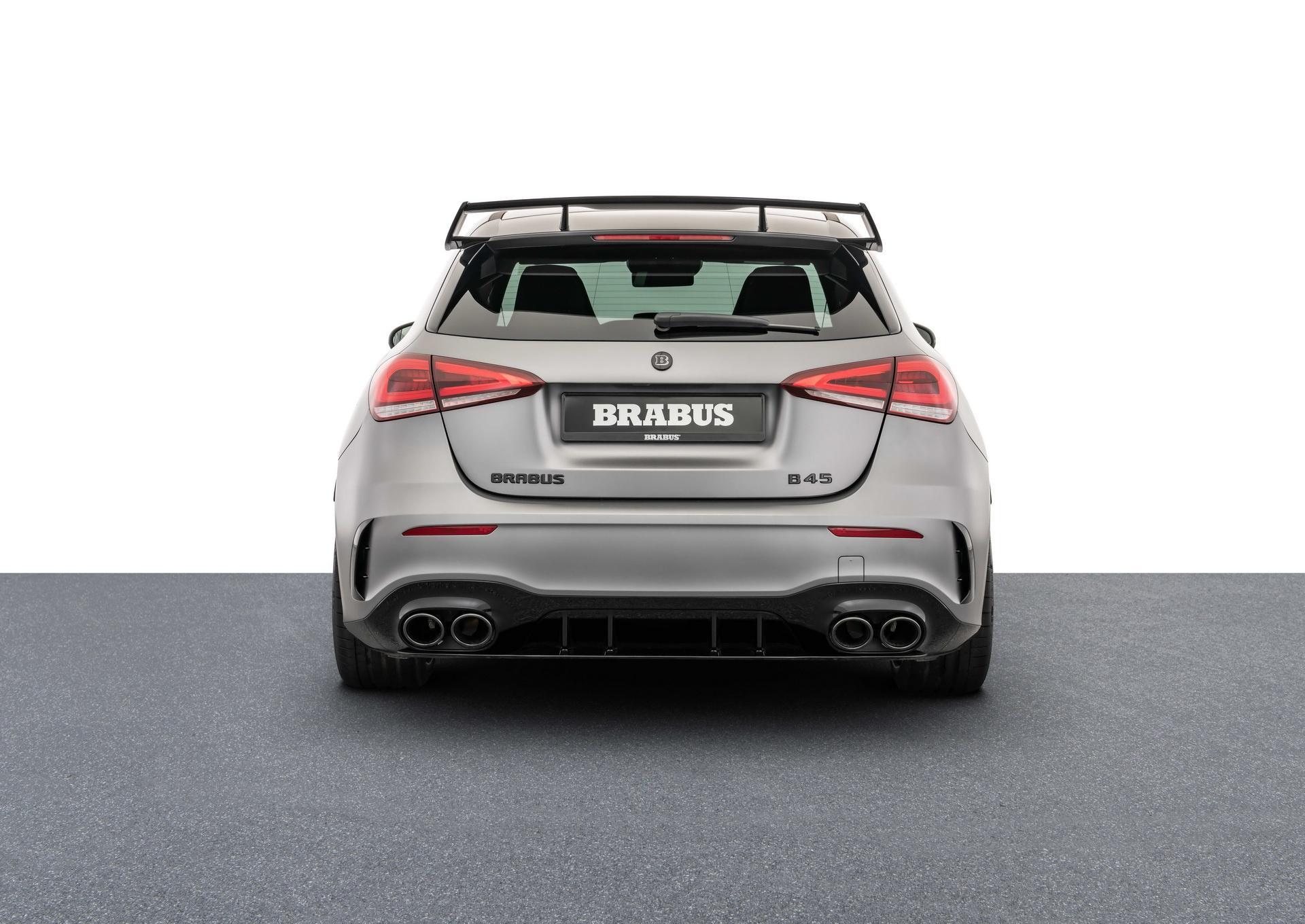 Mercedes-AMG A 45 S được Brabus nâng cấp động cơ mạnh 444 mã lực Ảnh 5