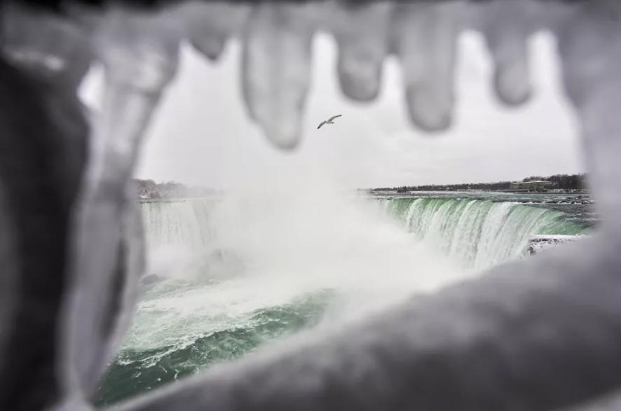 Vẻ đẹp của thác Niagara vào mùa đông Ảnh 5