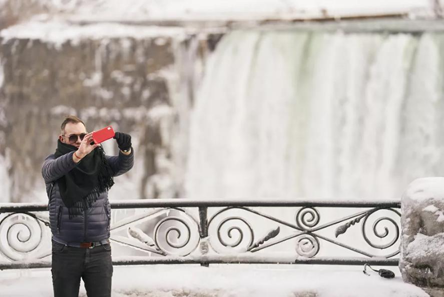 Vẻ đẹp của thác Niagara vào mùa đông Ảnh 4