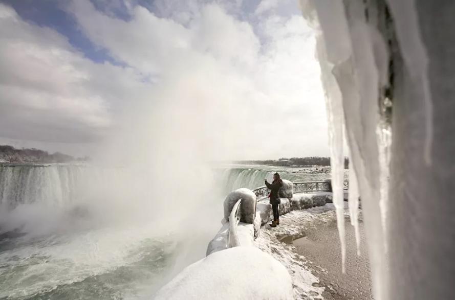 Vẻ đẹp của thác Niagara vào mùa đông Ảnh 6