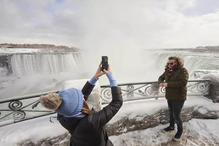 Vẻ đẹp của thác Niagara vào mùa đông Ảnh 10