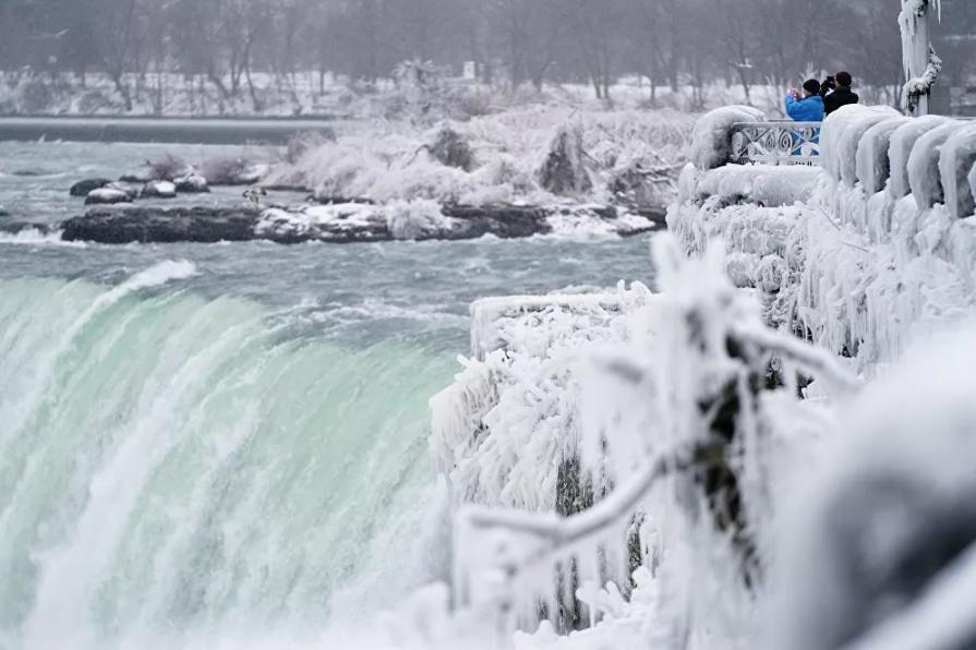 Vẻ đẹp của thác Niagara vào mùa đông Ảnh 9