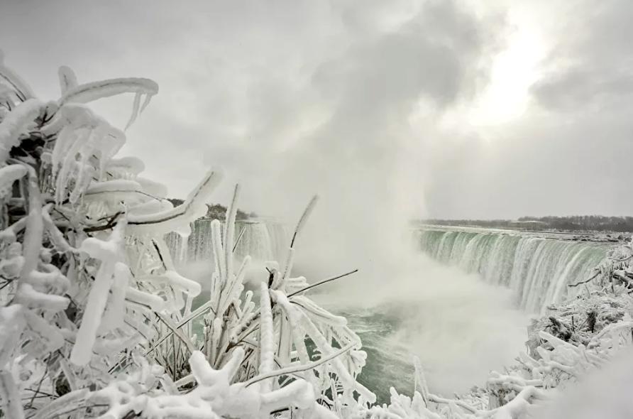 Vẻ đẹp của thác Niagara vào mùa đông Ảnh 8