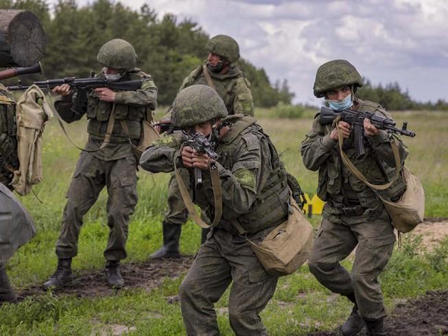 Báo Ukraine: Nga diễn tập tác chiến gần Donbass Ảnh 1