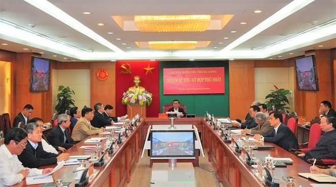 Ủy ban Kiểm tra Trung ương khóa XIII, bầu các đồng chí Phó Chủ nhiệm Ảnh 1