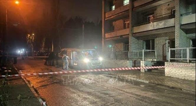Cháy bệnh viện điều trị bệnh nhân COVID-19 làm 4 người thiệt mạng Ảnh 1
