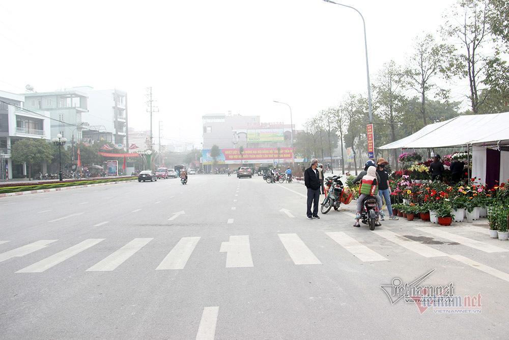 Bên trong TP Chí Linh sau 10 ngày phong tỏa dịp cận Tết Ảnh 7