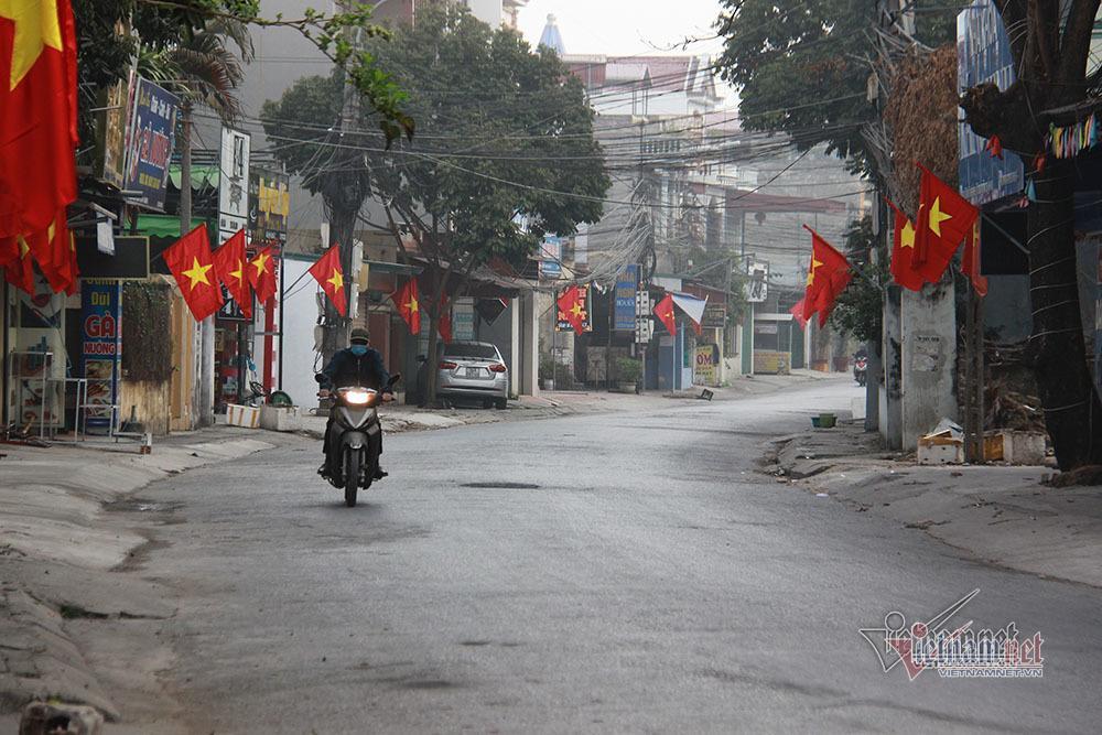 Bên trong TP Chí Linh sau 10 ngày phong tỏa dịp cận Tết Ảnh 9