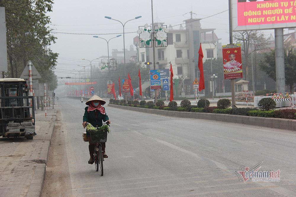 Bên trong TP Chí Linh sau 10 ngày phong tỏa dịp cận Tết Ảnh 3