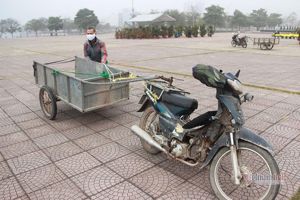 Bên trong TP Chí Linh sau 10 ngày phong tỏa dịp cận Tết Ảnh 6