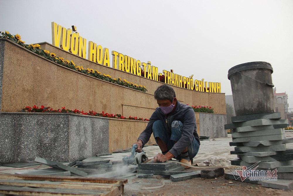 Bên trong TP Chí Linh sau 10 ngày phong tỏa dịp cận Tết Ảnh 1
