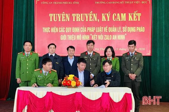 1.000 người ra quân quyết tâm vì một thành phố Hà Tĩnh không tiếng pháo nổ Ảnh 4