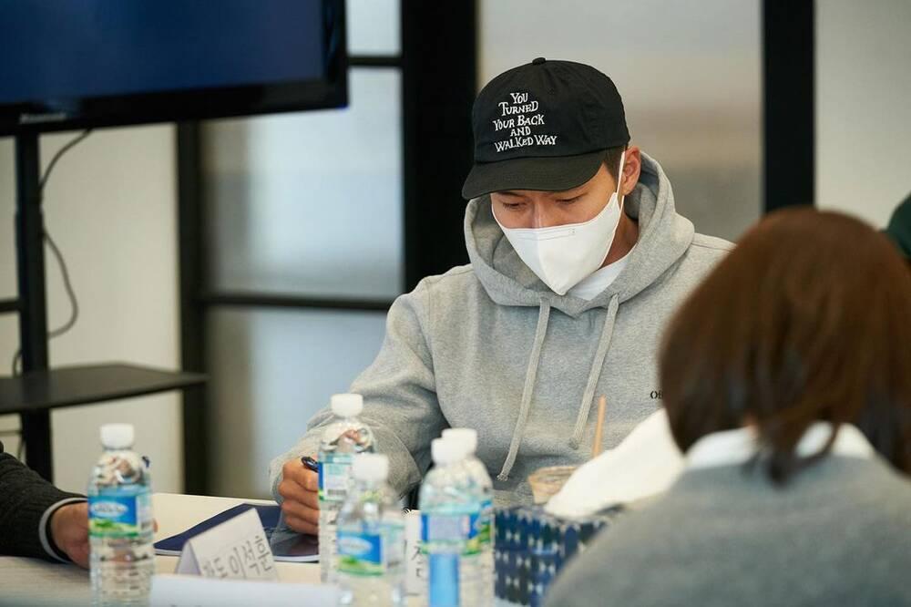 Yoona (SNSD) rạng rỡ bên Hyun Bin tại buổi đọc kịch bản phim mới Ảnh 3