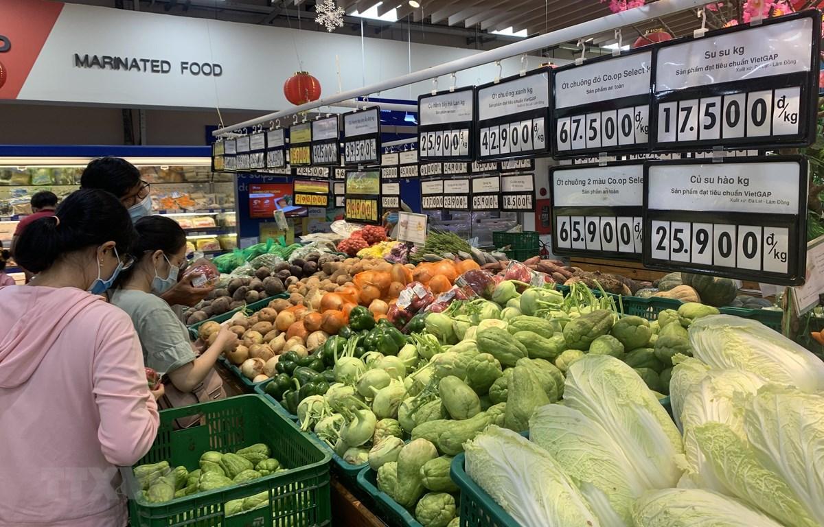 Nhiều siêu thị, cửa hàng, chợ bán hàng trở lại, giá cả ổn định Ảnh 1