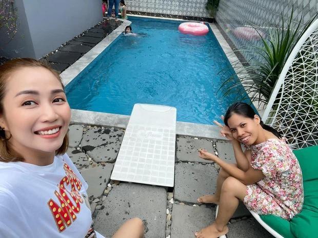 Cảm động với hình ảnh mới nhất của con gái cố diễn viên Mai Phương: Tràn đầy hạnh phúc Ảnh 3