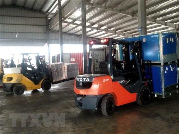 Quảng Ninh: Gần 5.000 tấn hàng hóa được xuất nhập khẩu sau Tết Ảnh 1