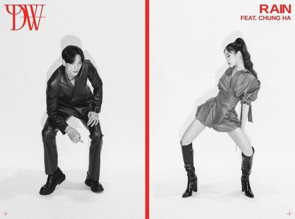 Kim Chung Ha hợp tác với Bi Rain Ảnh 1