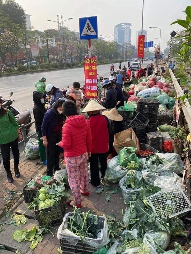 Người Hà Nội tích cực 'giải cứu' nông sản cho nông dân Hải Dương Ảnh 1