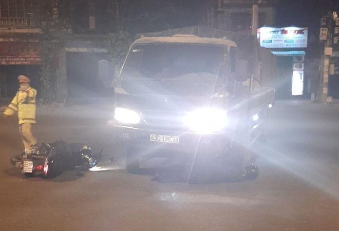Va chạm trực diện với xe tải, 1 thanh niên tử vong thương tâm tại Đà Nẵng Ảnh 1
