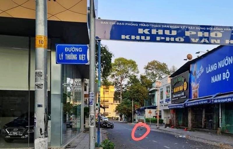 Bàng hoàng vụ tên cướp đâm chết tài xế xe ôm công nghệ Gojek Ảnh 1