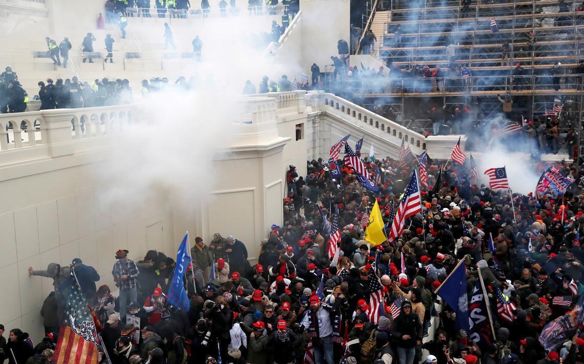 Thượng viện Mỹ điều tra lỗ hổng an ninh vụ bạo loạn ở quốc hội Ảnh 1