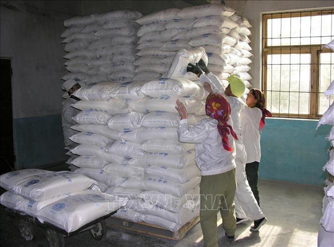 WFP cảnh báo có thể ngừng hoạt động ở Triều Tiên Ảnh 1