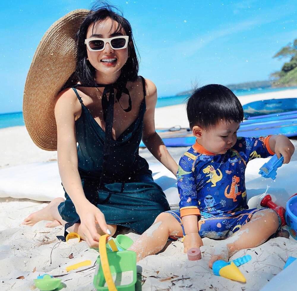 'Phạm Băng Băng phiên bản Việt' khoe chồng đại gia hơn 15 tuổi đầy điển trai Ảnh 9