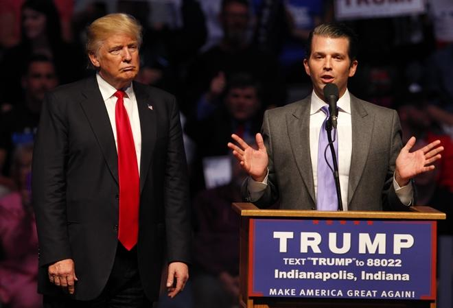 Con trai ông Trump khẳng định bố là tương lai đảng Cộng hòa Ảnh 1