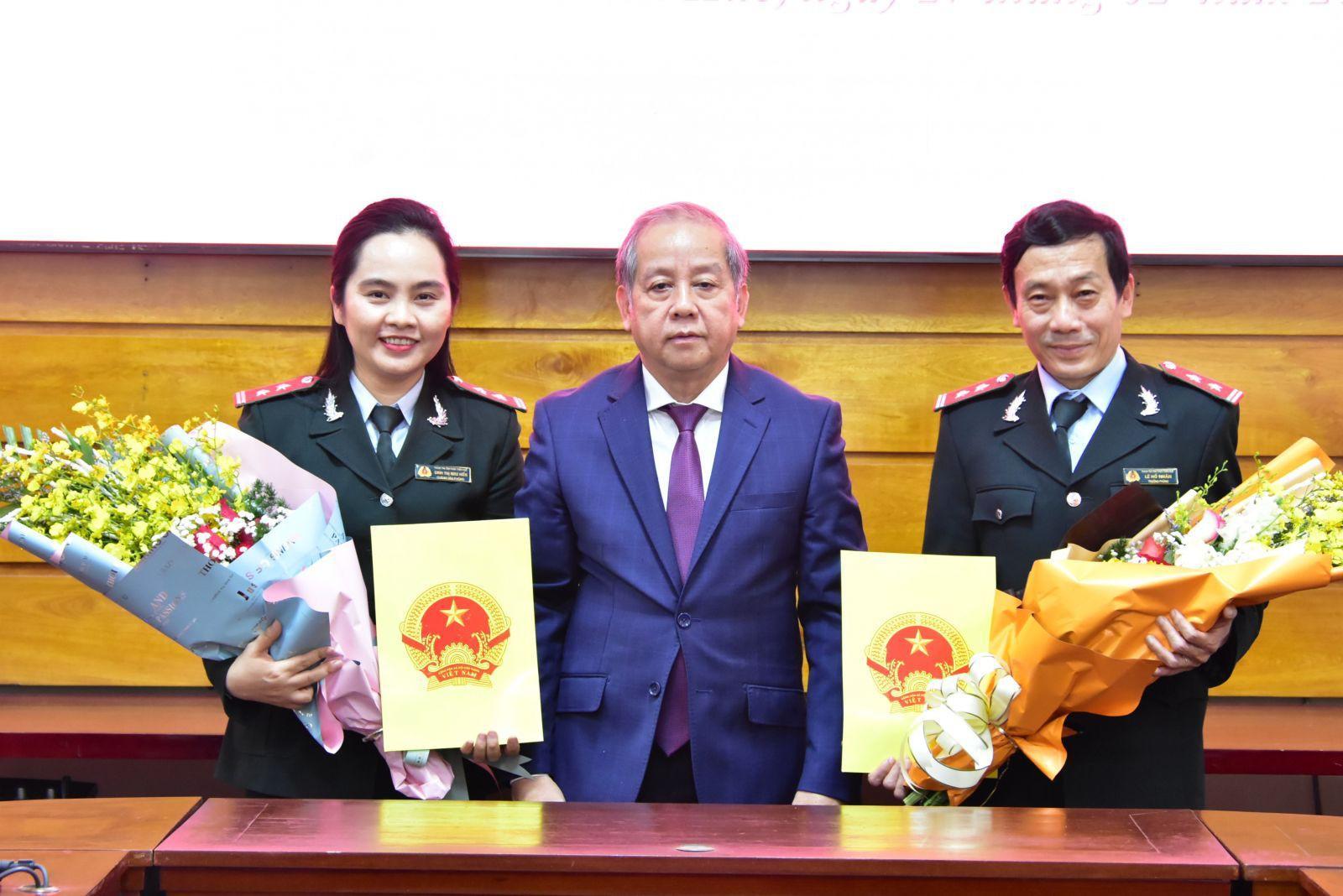 Bổ nhiệm hai Phó chánh Thanh tra tỉnh TT-Huế Ảnh 3