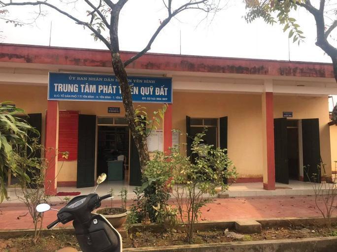 Giám đốc Trung tâm phát triển quỹ đất ở Yên Bái bị bắt Ảnh 1