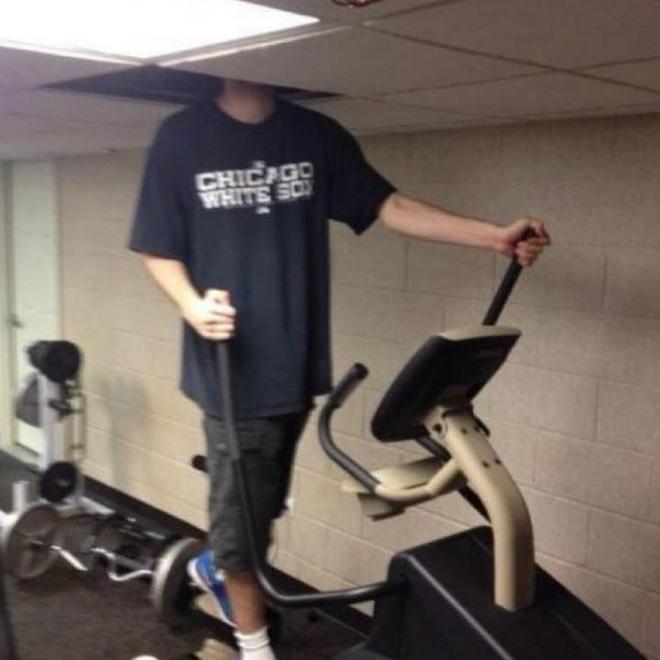 Khi phòng tập gym thành nơi tấu hài, xem xong chỉ muốn lao ngay đến phòng tập để hóng 'drama' Ảnh 6