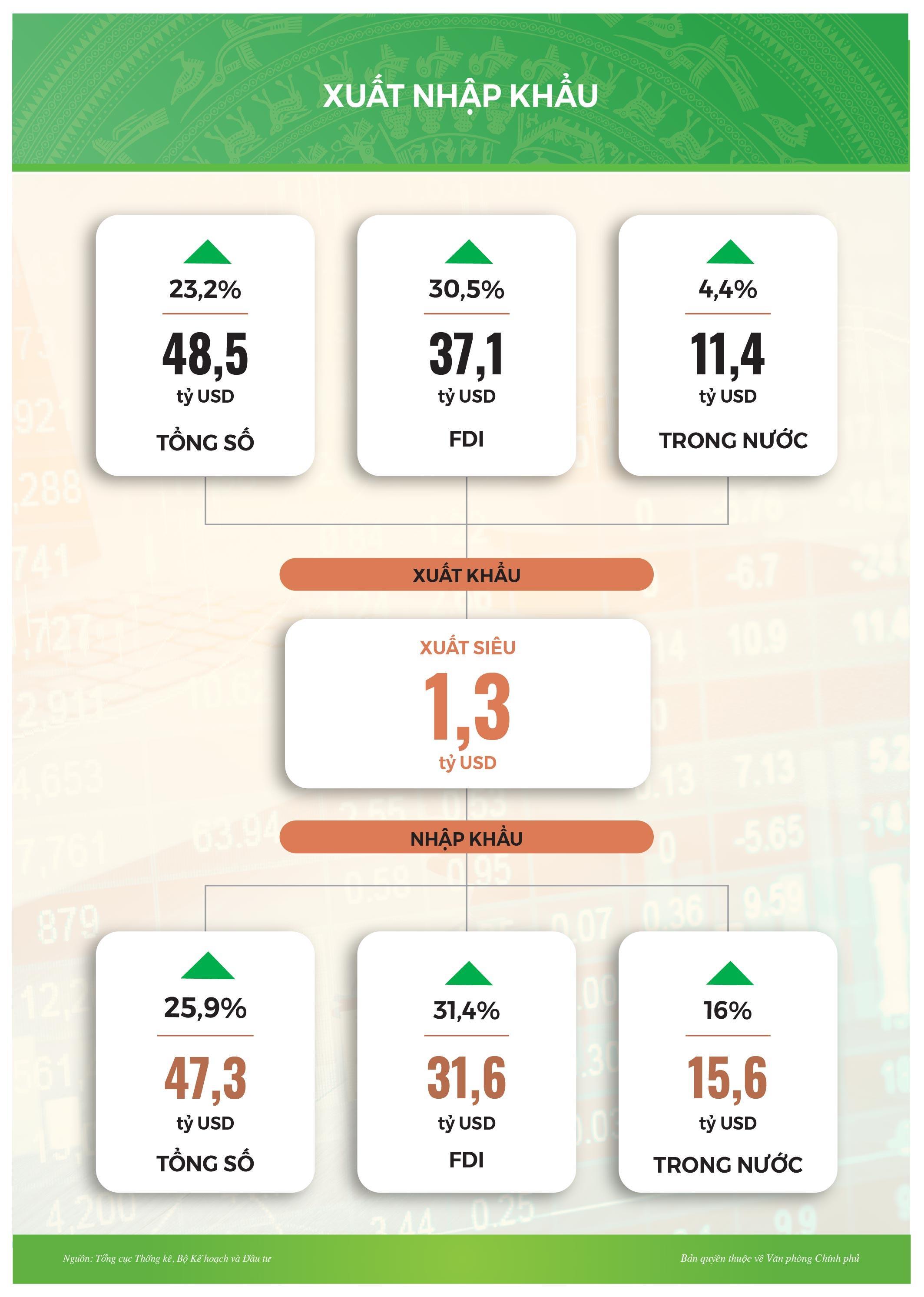 Infographic: Tình hình kinh tế-xã hội tháng 2/2021 Ảnh 7