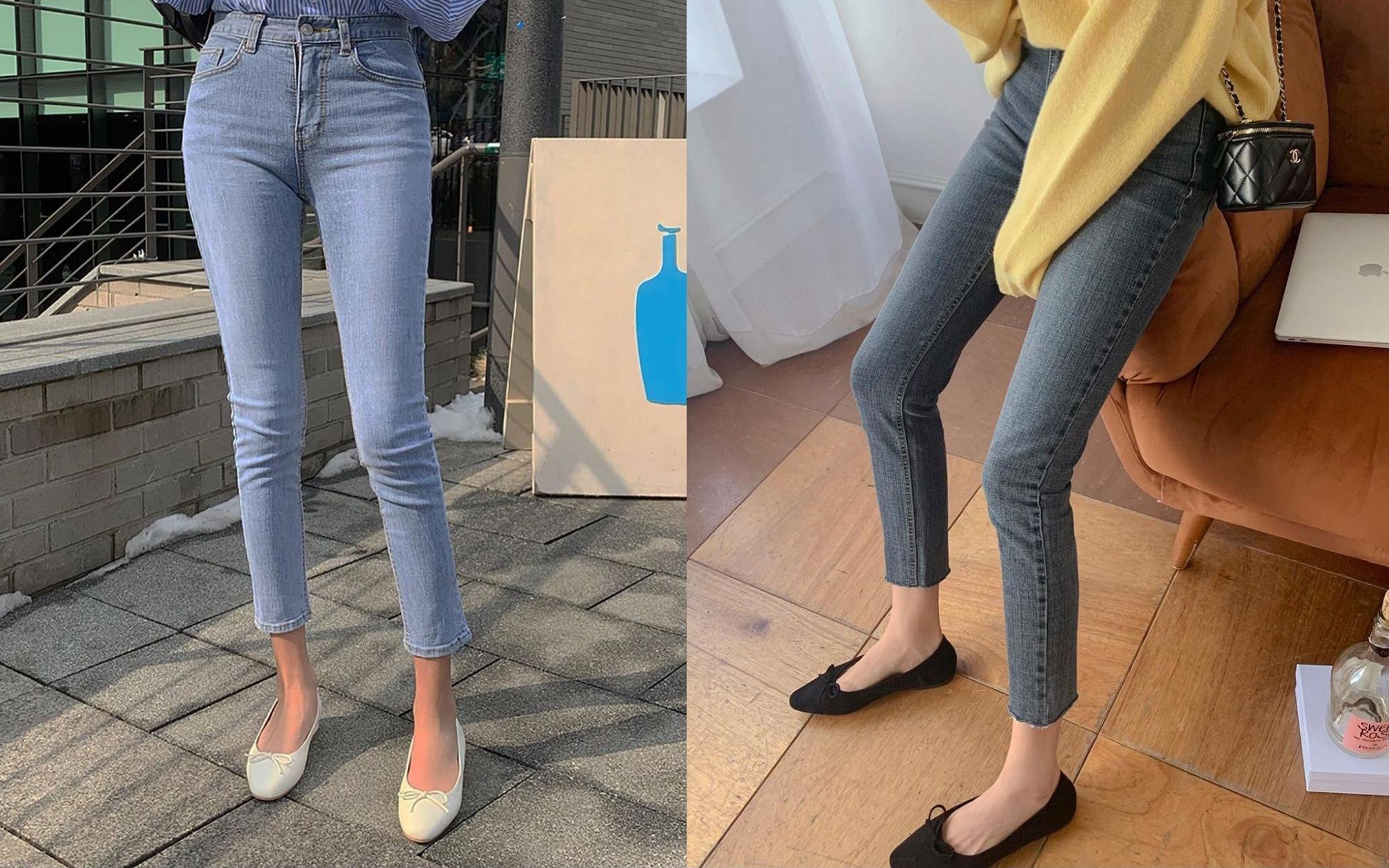 Kiểu giày búp bê hot nhất mùa Xuân: Diện với quần jeans hay váy đều xịn đẹp Ảnh 1