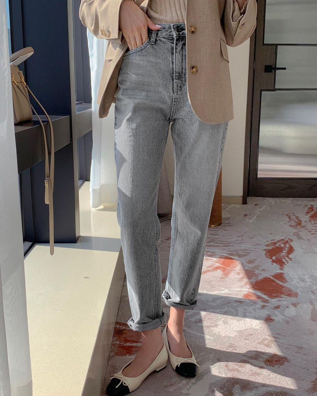 Kiểu giày búp bê hot nhất mùa Xuân: Diện với quần jeans hay váy đều xịn đẹp Ảnh 5