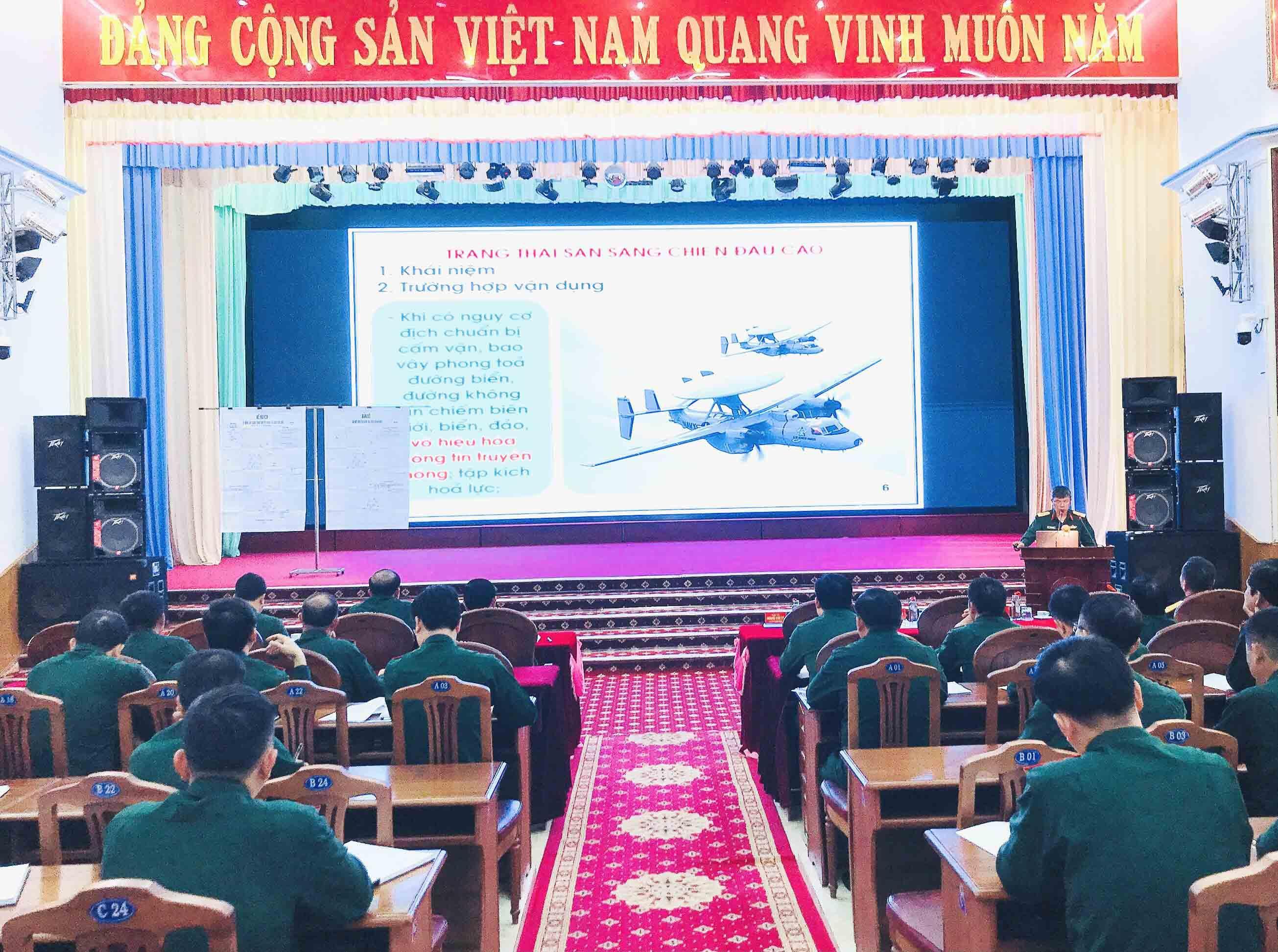 Binh đoàn 15 khai mạc lớp tập huấn chiến dịch cho cán bộ chủ trì năm 2021 Ảnh 1