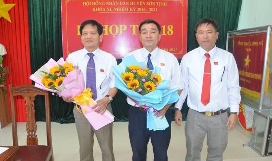 Nguyên Trưởng Công an huyện được bầu giữ chức Chủ tịch UBND H. Sơn Tịnh Ảnh 1
