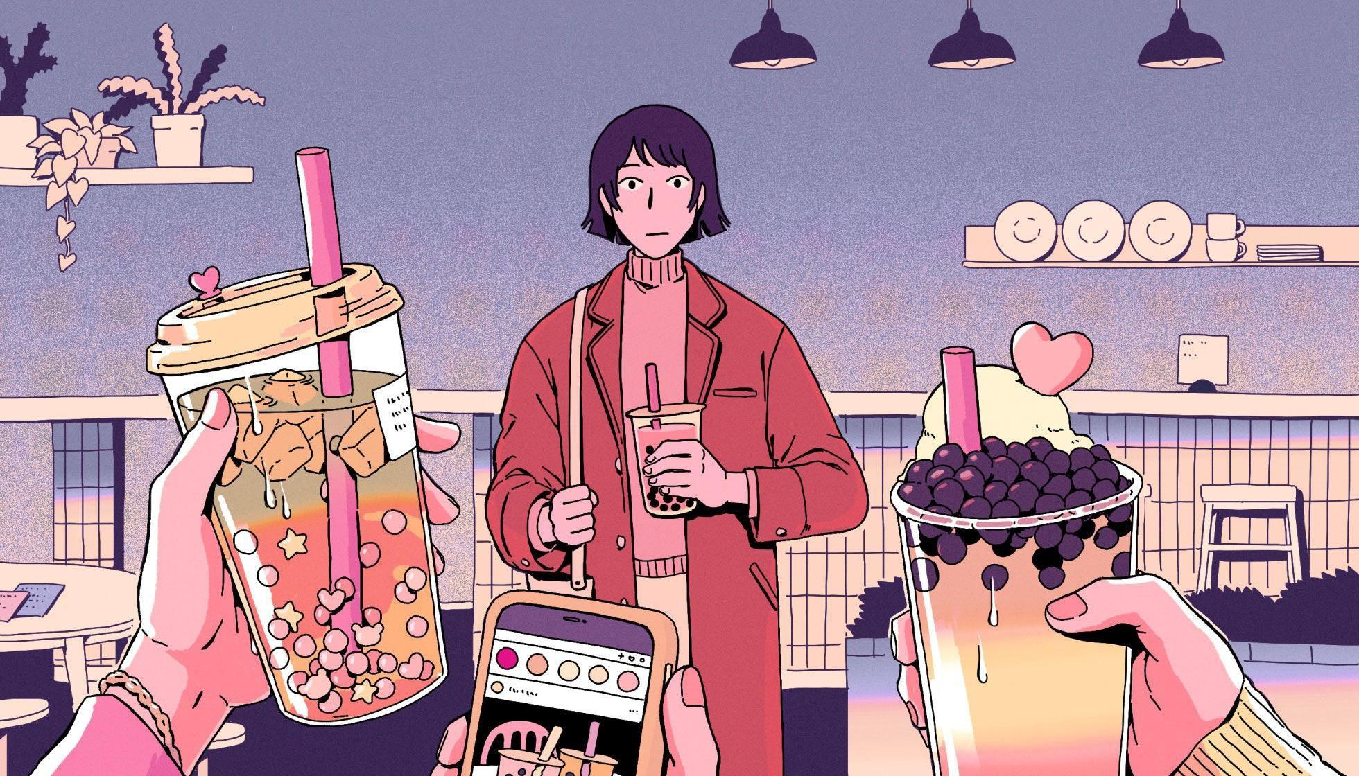Giới trẻ Trung Quốc không thể sống thiếu trà sữa Ảnh 3