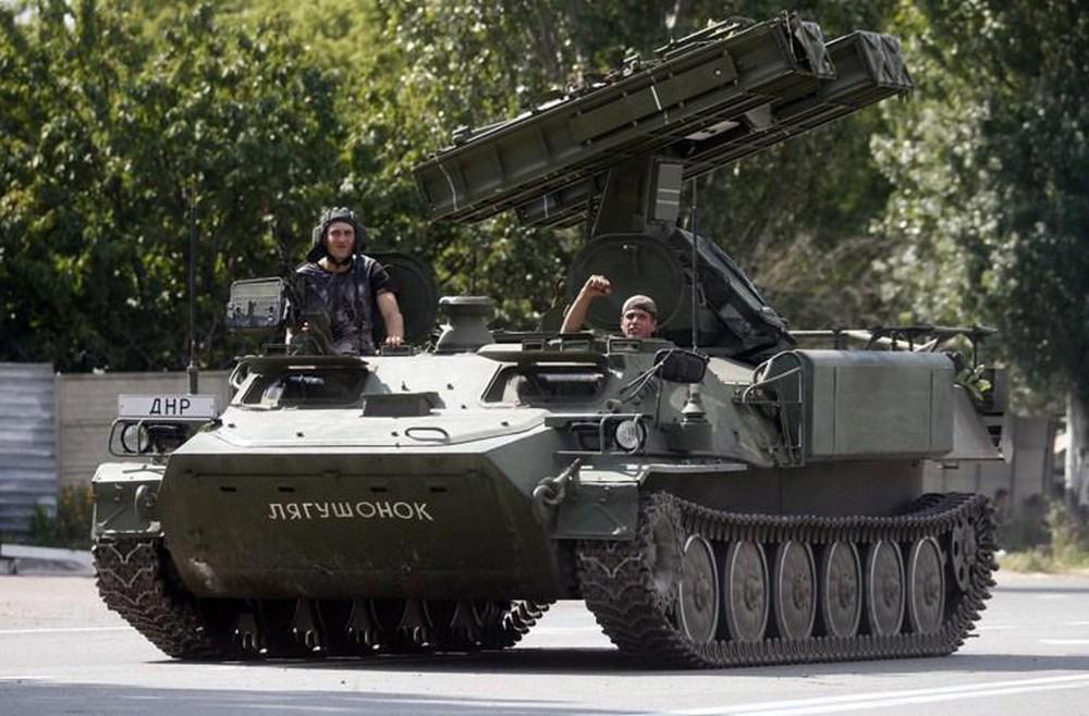 Trong tay dân quân miền Đông Ukraine có tên lửa phòng không cực nguy hiểm Ảnh 1