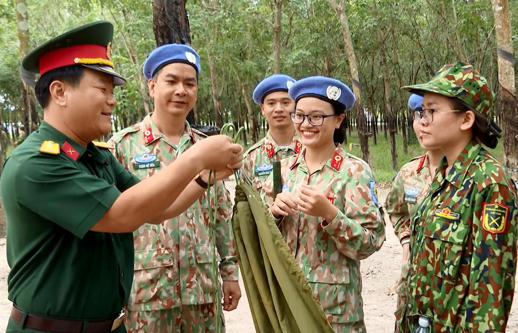 Chiến sĩ mũ nồi xanh sẵn sàng sang Nam Sudan gìn giữ hòa bình Ảnh 2