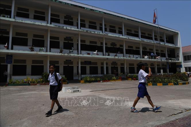 Campuchia đóng cửa trường học trên cả nước Ảnh 1