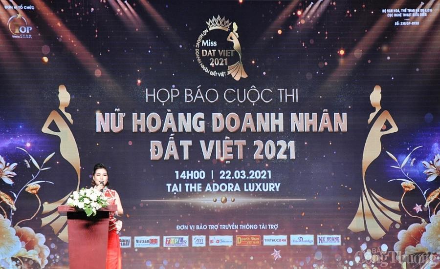 Chính thức công bố cuộc thi Nữ hoàng Doanh nhân đất Việt năm 2021 Ảnh 2