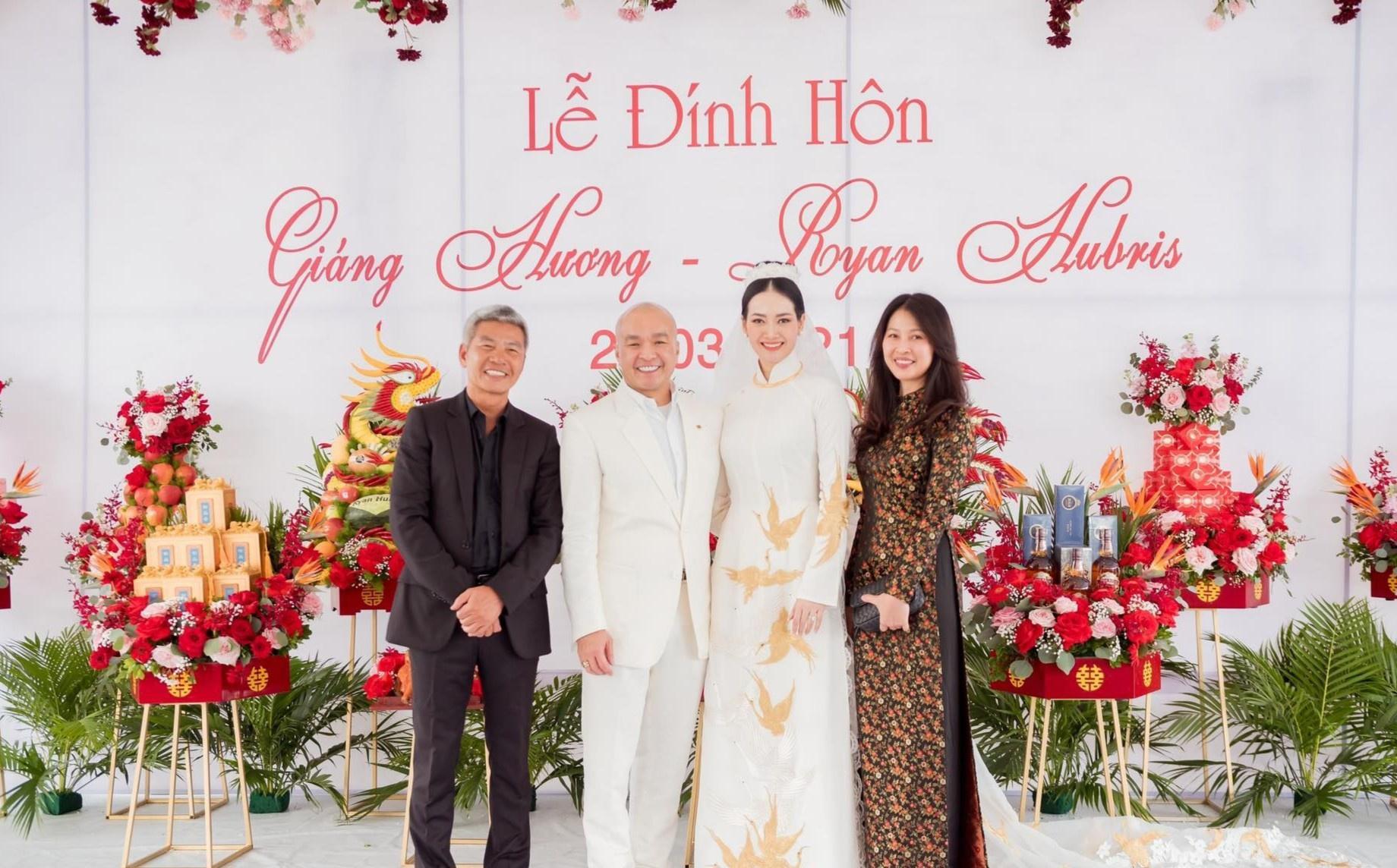 Người mẫu Giáng Hương kết hôn với giám đốc sản xuất show giải trí Ảnh 1