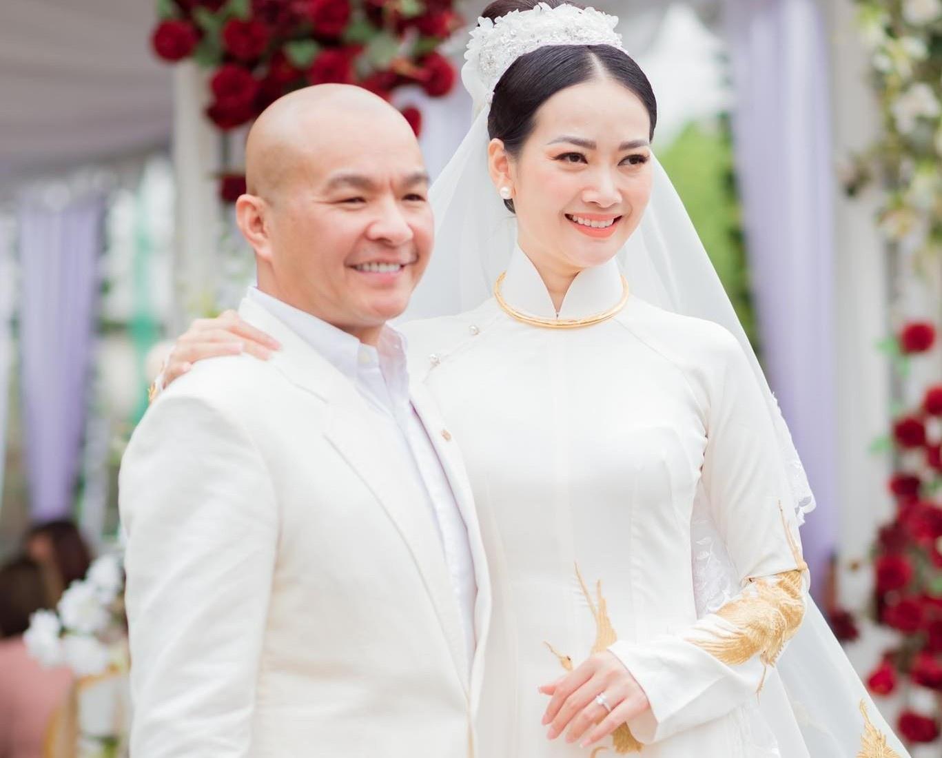 Người mẫu Giáng Hương kết hôn với giám đốc sản xuất show giải trí Ảnh 2