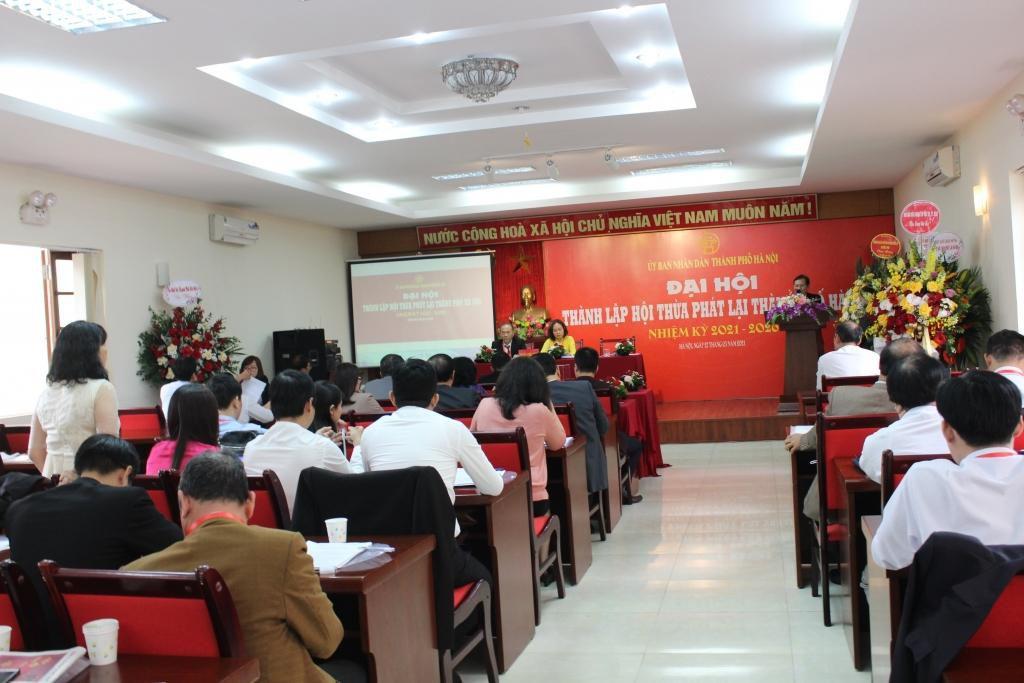 Hội Thừa phát lại TP Hà Nội chính thức được thành lập Ảnh 2