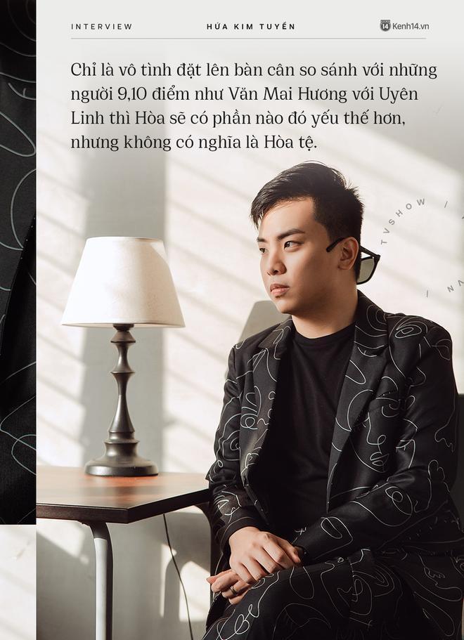 Hòa Minzy khiến hết Văn Mai Hương đến Hứa Kim Tuyền lo lắng về chuyện quá cầu toàn trong giọng hát Ảnh 4