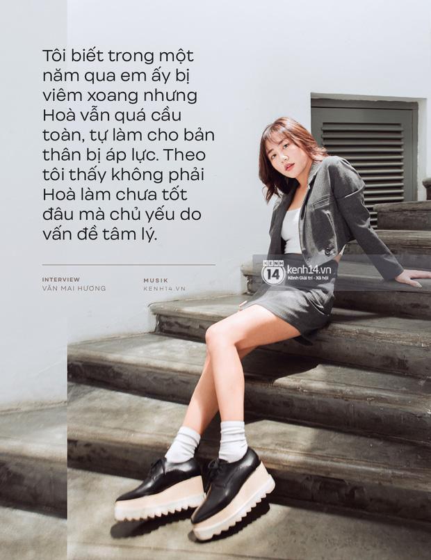 Hòa Minzy khiến hết Văn Mai Hương đến Hứa Kim Tuyền lo lắng về chuyện quá cầu toàn trong giọng hát Ảnh 2