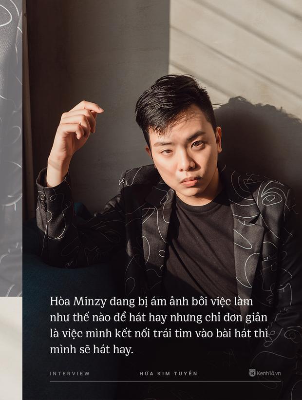 Hòa Minzy khiến hết Văn Mai Hương đến Hứa Kim Tuyền lo lắng về chuyện quá cầu toàn trong giọng hát Ảnh 3