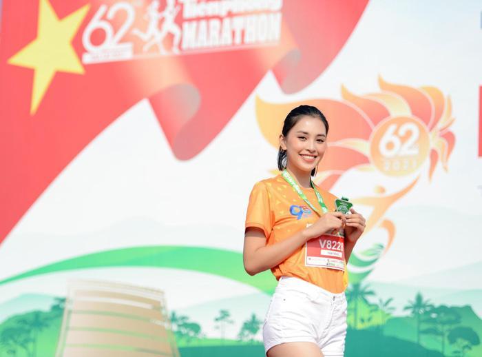 Hoa hậu Tiểu Vy, Đỗ Thị Hà tham gia giải chạy marathon tại Gia Lai Ảnh 2