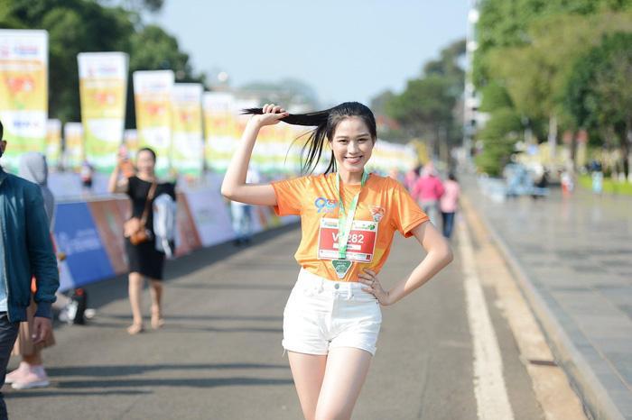 Hoa hậu Tiểu Vy, Đỗ Thị Hà tham gia giải chạy marathon tại Gia Lai Ảnh 3
